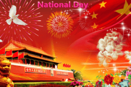 Chinese National Day Holiday Notice