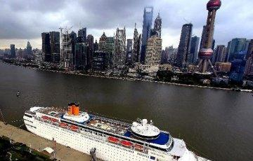 Do you need a Chinese visa to join in an international cruise ship in Shanghai?