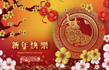 2021 Chinese New Year of OX